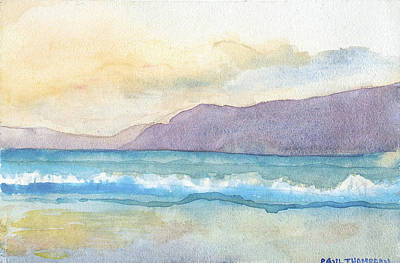 Painting - Ballenskelligs Beach by Paul Thompson