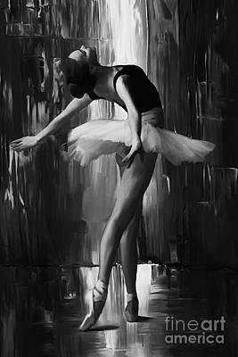Ballerina 0xd03 Art Print by Gull G