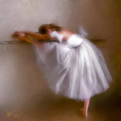 Art Print featuring the photograph Ballerina 1 by Juan Carlos Ferro Duque