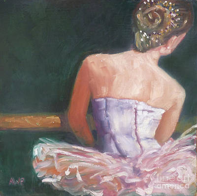 Painting - Ballerina 2 by Audrey Peaty