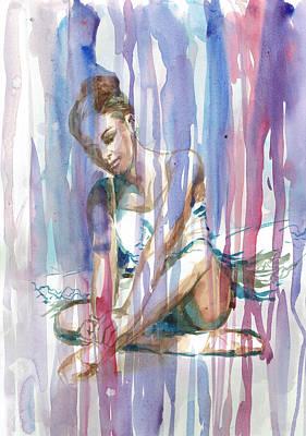 Ballerina 2 - By Diana Van Art Print by Diana Van