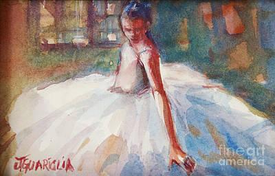 Drawing - Ballerina 2 by Joyce A Guariglia