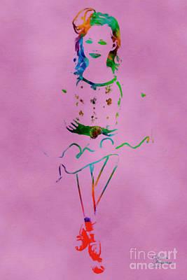 Mixed Media - Ballerina 3 by David Millenheft