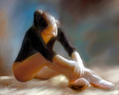 Art Print featuring the photograph Ballerina 3 by Juan Carlos Ferro Duque
