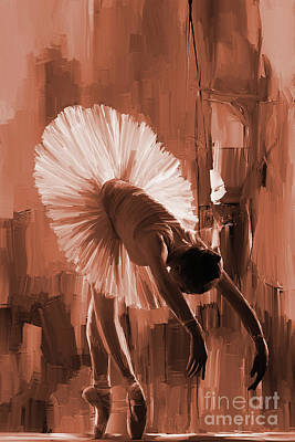 Passionate Painting - Ballerina 333d by Gull G