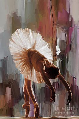 Spanish Painting - Ballerina 333g by Gull G