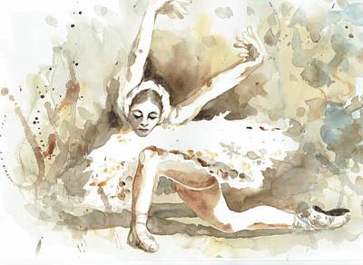 Ballerina 4 - By Diana Van Art Print by Diana Van