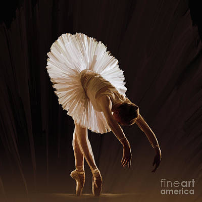 Passionate Painting - Ballerina 4321o by Gull G