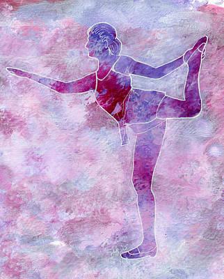 Painting - Ballerina - Adult 1 by Lori Kingston