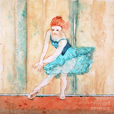 Painting - Ballerina Blue by Lynne Furrer