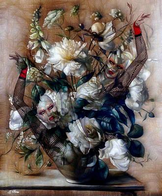 Ballerina Bouquet Art Print by G Berry