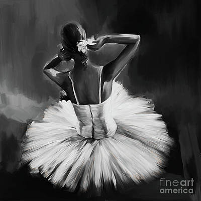 Ballerina Dance 0444a Original by Gull G