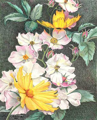 Pink Ballerina Painting - Ballerina Dance by Joyce Hutchinson