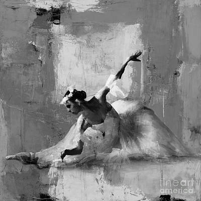 Ballerina Dance On The Floor  Original by Gull G