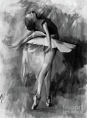 Ballerina Dance Painting 56001 Original