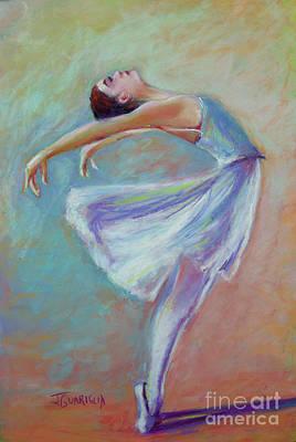 Pastel - Ballerina Dancer by Joyce A Guariglia