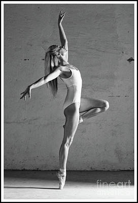 Photograph - Ballerina Dancing by Michael Edwards