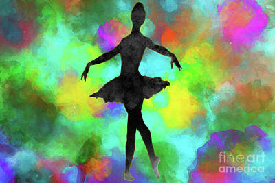 Mixed Media - Ballerina by David Millenheft