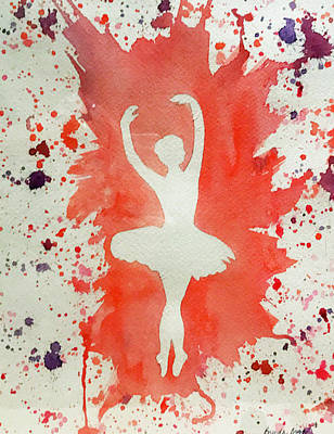 Painting - Ballerina Euphoria by Brenda Brown