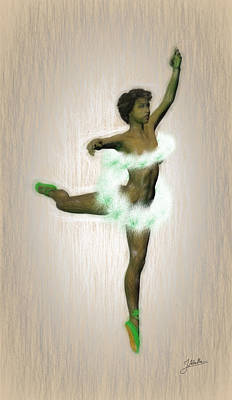Passionate Painting - Ballerina Flower. by Joaquin Abella