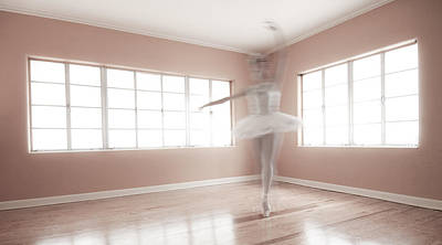 Ballet Photograph - Ballerina Ghost by Steve Williams