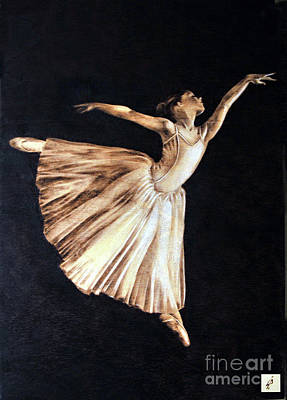 Pyrography Pyrography - Ballerina by Ilaria Andreucci