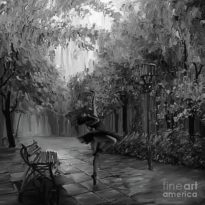 Ballerina In The Park 01 Original