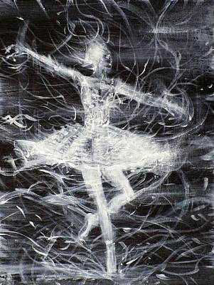 Painting - Ballerina - January 21,2013 by Fabrizio Cassetta