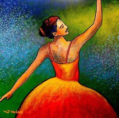 Ballerina Painting - Ballerina by John  Nolan