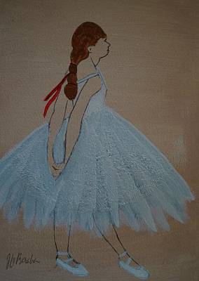 Painting - Ballerina by Joseph Frank Baraba