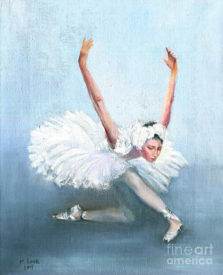 Painting - Ballerina by Marlene Book