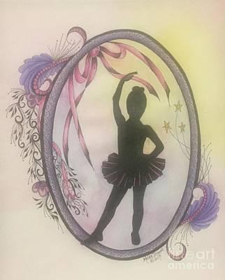 Painting - Ballerina by Meldra Driscoll