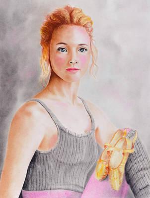 Pastel - Ballerina by Paul Cubeta