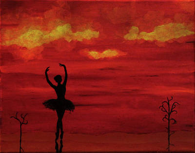 Painting - Ballerina by Robert Marquiss