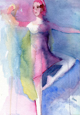 Painting - Ballerina by Sandy McIntire