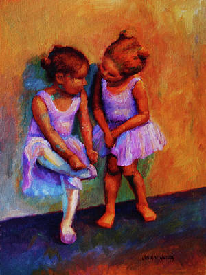Ballerina Secrets Art Print by Jeanne Young