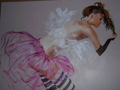 Painting - Ballerina by Sierra Logan