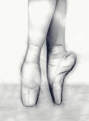 Photograph - Ballerina Slippers by Athena Mckinzie