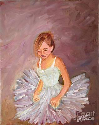 Ballerina  Art Print by Stella Sherman