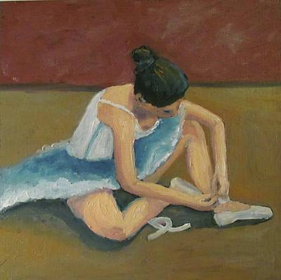 Painting - Ballerina by Susan  Spohn
