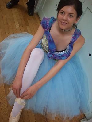 Ballerina Suzanne Art Print by Judith Desrosiers