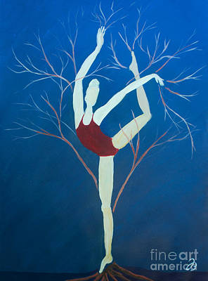 Painting - Ballerina Tree by Jutta B
