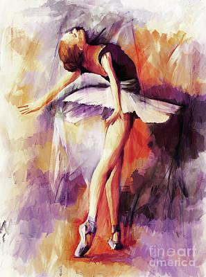 Ballerina Woman 77201 Art Print