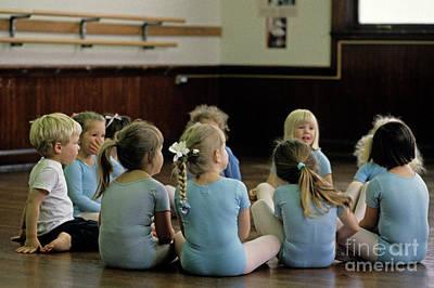 Photograph - Ballet Class by Jim Corwin