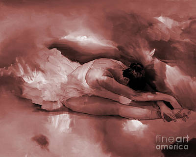 Tango Painting - Ballet Dance 44401 by Gull G