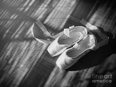 Photograph - Ballet Dance Shoes by Giuseppe Esposito