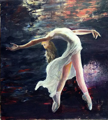 Painting - Ballet Dancer 2 by Sylva Zalmanson