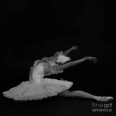 Ballet Dancer Black And White  Original
