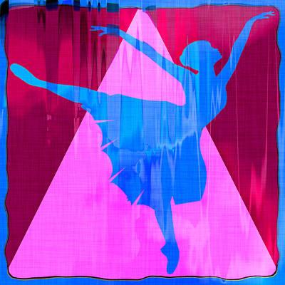 Ballet Dancer Art Print by David G Paul