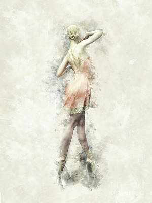 Digital Art - Ballet Dancer by Shanina Conway